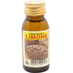Aroma naturale limone, liquido, per dolci in bottiglia da 60 cc, da Ela
