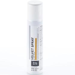 Velvet Spray Gold: 250 ml di colorante alimentare spray oro vellutato, Linea I78 da Silikomart