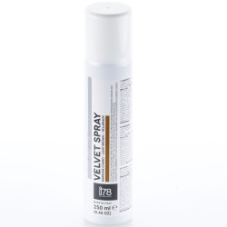 Velvet Spray Light Brown: 250 ml di colorante alimentare spray oro vellutato, Linea I78 da Silikomart