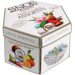 500 g Astuccio Lieto Evento Snob gusti e colori assortiti