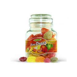 Caramelle dure alla frutta in barattolo di vetro gr 300