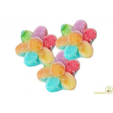 Caramelle gommose Fiori Arcobaleno 1Kg