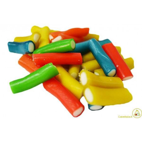 Caramelle gommose Liquirizia Farcita Colorata 1Kg