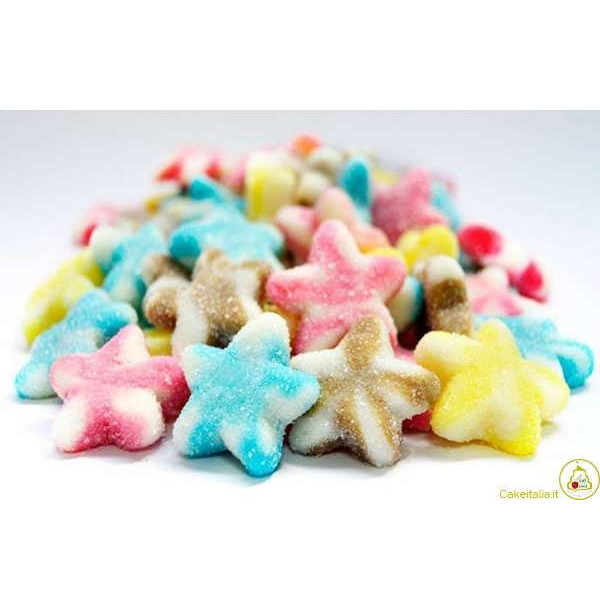 Caramelle gommose Stelle Colorate 1Kg