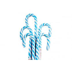 Lecca Lecca Candy Cane pz 16 bianco azzurro
