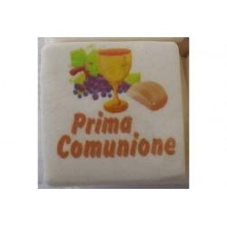 """Marshmallow Quadratino """"Prima Comunione"""" in busta da 20pz"""