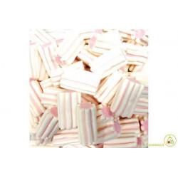 Marshmallow Striato Bianco Rosa Bulgari g 1000