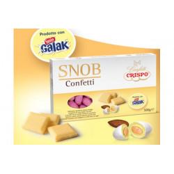 500 gr Confetti Snob Rosa con Cioccolato Galak Nestlè