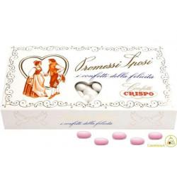 1 Kg Confetti Promessi Sposi Rosa
