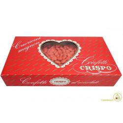 Confetti Cuoricini Mignon Rosso 1Kg