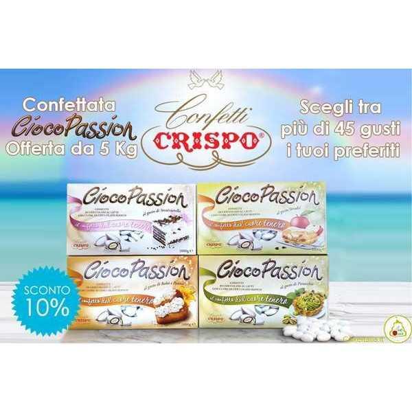 Kit Offerta 5 Kg Confetti Ciocopassion Crispo