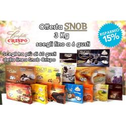 Kit Offerta 3 Kg Confetti Snob Crispo