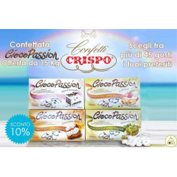 Kit Offerta 15 Kg Confetti Ciocopassion Crispo