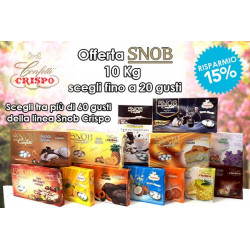 Kit Offerta 10 Kg Confetti Snob Crispo