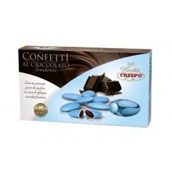 1 Kg Confetti Celeste al Cioccolato Fondente
