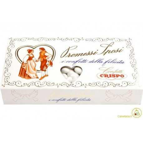 Confetti Promessi Sposi Bianco 1Kg