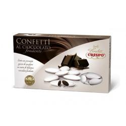 1 Kg Confetti Bianchi al Cioccolato Fondente