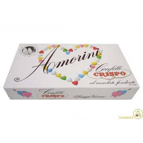 Confetti Cuore Amorini Bianchi 1Kg
