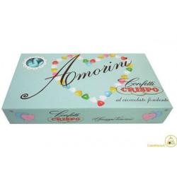 Confetti Cuore Amorini Celeste 1Kg