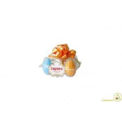 Confezione 6 uova di gallina cioccolata 210gr