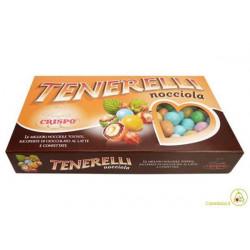 1 Kg Confetti alla Nocciola Tenerelli Colori Assortiti