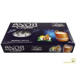 Confetti Snob Bianchi alla Mandorla e Cioccolato al Latte Kg 1