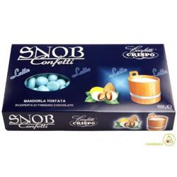Confetti Snob alla Mandorla e Cioccolato al Latte Celeste Kg 1