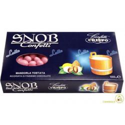 Confetti Snob alla Mandorla e Cioccolato al Latte Rosa Kg 1