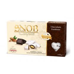 1 Kg Confetti Snob alla Mandorla e Cioccolato Fondente