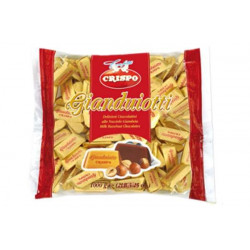 Crispo Gianduiotti  a Latte in busta 1kg