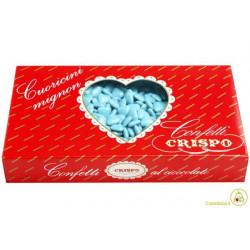 Confetti Cuoricini Mignon Celeste 1Kg