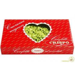Confetti Cuoricini Mignon Verde 1Kg