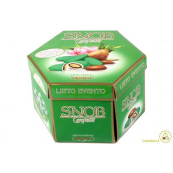 500 gr  Astuccio Lieto Evento Snob Verde Promessa