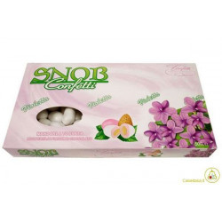 Confetti Snob Violetta Crispo da 500 g bianchi