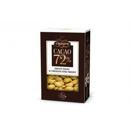 500 gr Confetti Oro Perlati al Cioccolato Fondente 72%