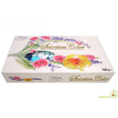 1 Kg Confetti Selection Color Celeste - al cioccolato
