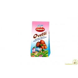 Ovetti di cioccolato al latte ripieni di crema alla nocciola 180gr