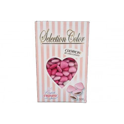 Confetti Cuoricini Mignon Selection Color Rosa 500g