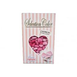 Confetti Cuoricini Mignon Selection Color Rosa 500g