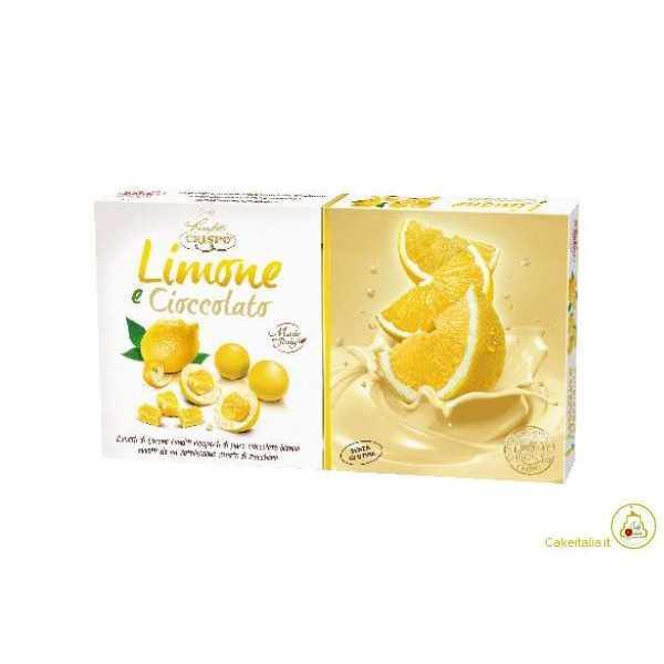 Confetti Crispo Cubetti Limone e Cioccolato Senza Glutine g 500