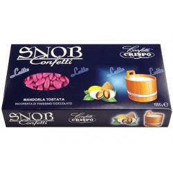Confetti Snob Fucsia alla Mandorla e Cioccolato al Latte Kg 1