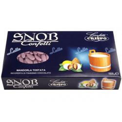 Confetti Snob Lilla alla Mandorla e Cioccolato al Latte Kg 1
