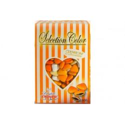 Confetti Cuoricini Mignon Selection Color Arancione 500g