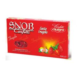 500 gr Confetti Snob Fragola color Rosso