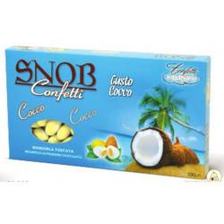 500 gr Confetti Snob alla frutta gusto Cocco color Avorio