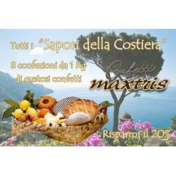 """Kit Offerta Confetti Maxtris """"Sapori della Costiera"""" Kg 8"""