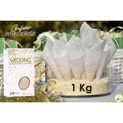 Riso per Matrimoni Bianco 1 Kg