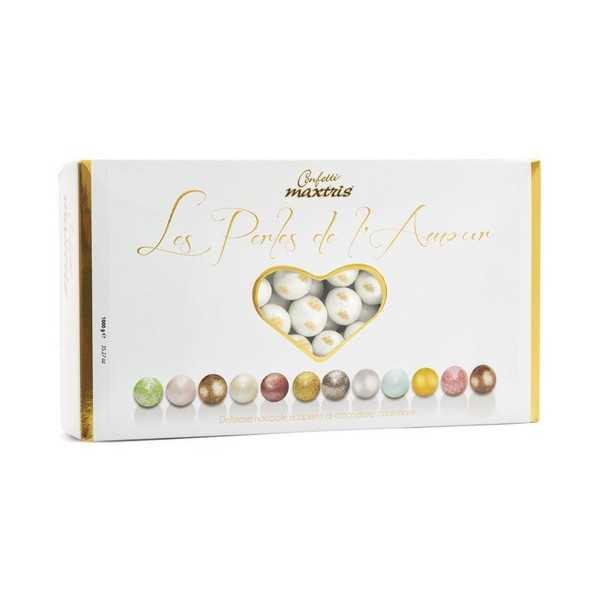 Confetti Maxtris Les Perles White/Gold - Perle Bianche/Oro