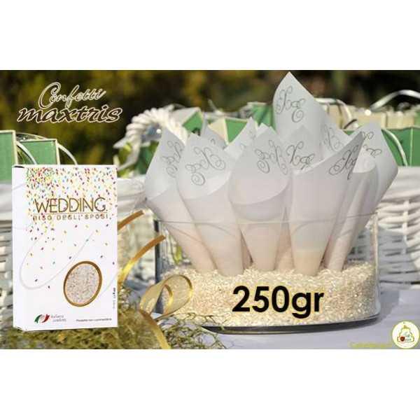 Riso per Matrimoni Bianco 250 g