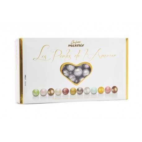 Confetti Maxtris Les Perles Argent - Perle Argento